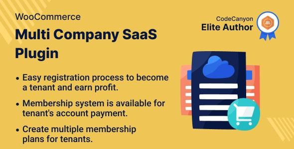WooCommerce Multi Company SaaS Plugin - CodeCanyon Item for Sale