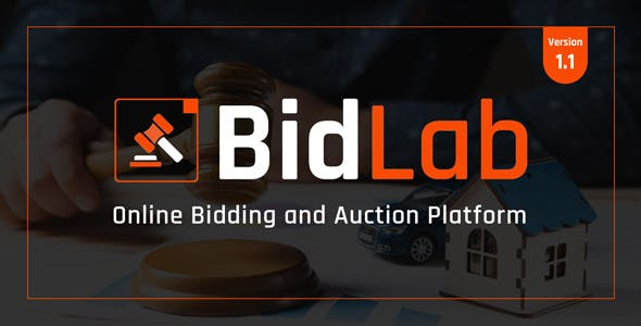 BidLab - Online Bidding & Auction Platform