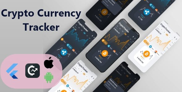 Crypto Currencies Real Time Live Tracker App With Flutter