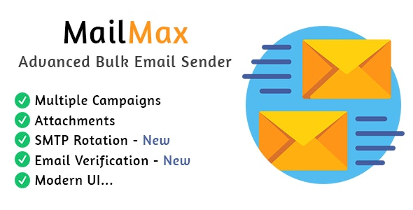 MailMax : Advanced Bulk Email Sender - CodeCanyon Item for Sale