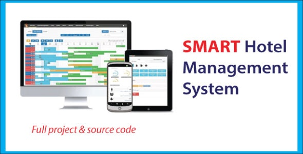 Smart Hotel Management System with source code - CodeCanyon Item for Sale