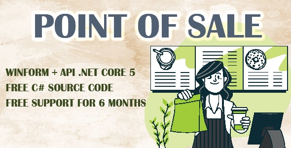 POINT OF SALE (POS) | API .NET CORE 5 – WINFORM | C# - SQL - CodeCanyon Item for Sale