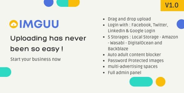 Imguu - Image Upload & Sharing Script