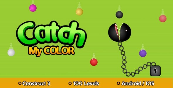 Catch My Color - HTML5 Game (Construct 3) - CodeCanyon Item for Sale