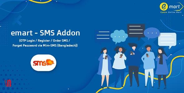 emart - SMS Addon
