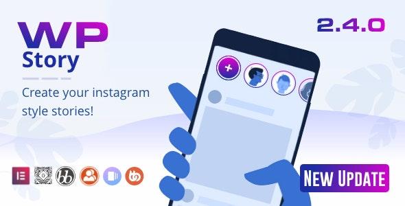 WP Story Premium v2.4.1 – Instagram Style Stories For WordPress
