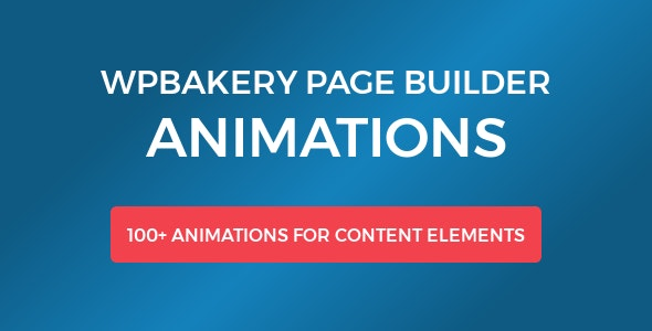 WPBakery Page Builder Animations - CodeCanyon Item for Sale