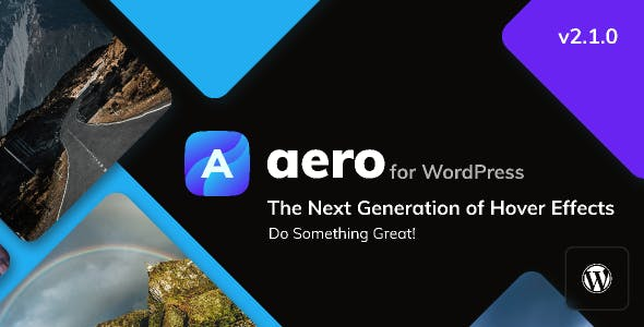Aero for WordPress - Image Hover Effects
