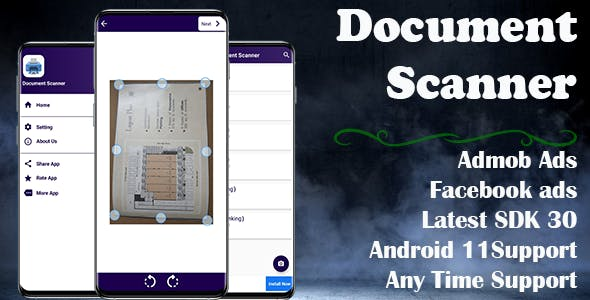 Document Scanner Clone (Android 11 and SDK 30 Supported)