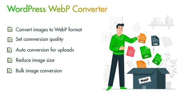 WebPio - WordPress WebP Converter