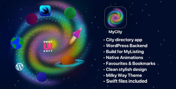 MyCity - Listings Directory iOS app for MyListing (Main Demo) Word Press Theme