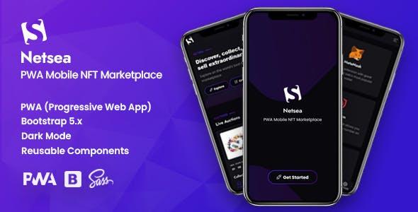 Netsea - PWA Mobile NFT Marketplace