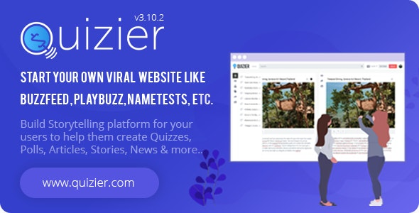 Quizier Multipurpose Viral Application & Capture Leads - CodeCanyon Item for Sale