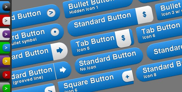 Buttons CSS Buttons from CodeCanyon