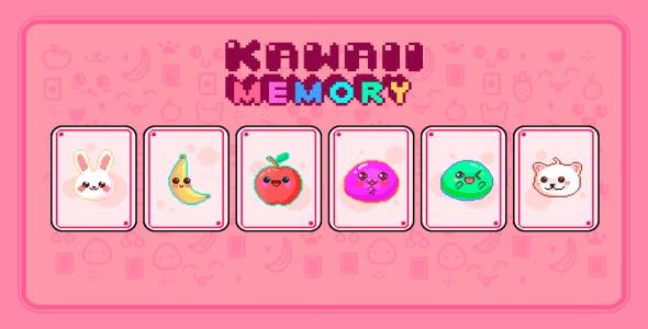 Kawaii Memory Pixel Art Version