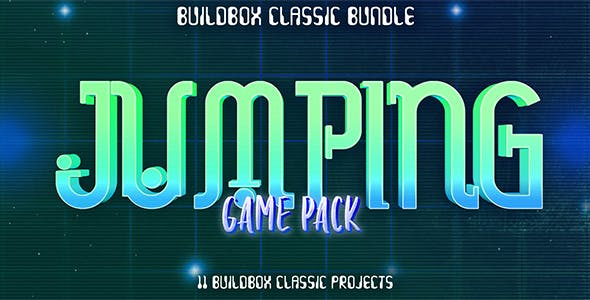 11 Buildbox Jumping Game Pack