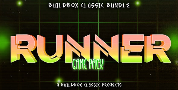 9 Buildbox Runner Game Pack - CodeCanyon Item for Sale