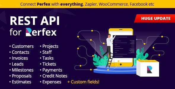REST API for Perfex CRM - Connect your Perfex CRM with third party applications