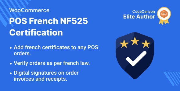 WooCommerce POS French NF525 Certification - CodeCanyon Item for Sale