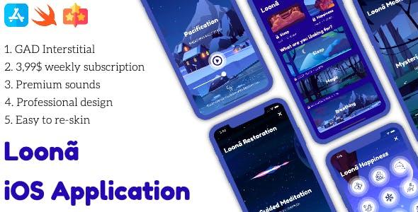 Loona Full iOS Application