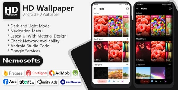 Android HD Wallpaper - CodeCanyon Item for Sale