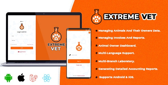 Extreme VET - Veterinary laboratory management system - CodeCanyon Item for Sale