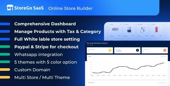 StoreGo SaaS v2.7.0 – Online Store Builder