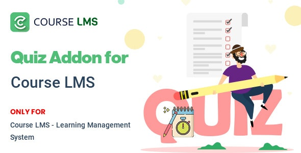 Course LMS Quiz Addon - CodeCanyon Item for Sale
