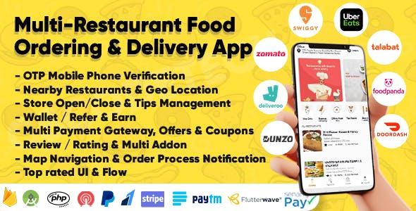 Eatggy - Multi Restaurant Food Ordering & Delivery Application   Restaurant Management