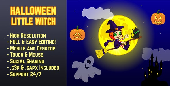 Halloween Little Witch - CodeCanyon Item for Sale