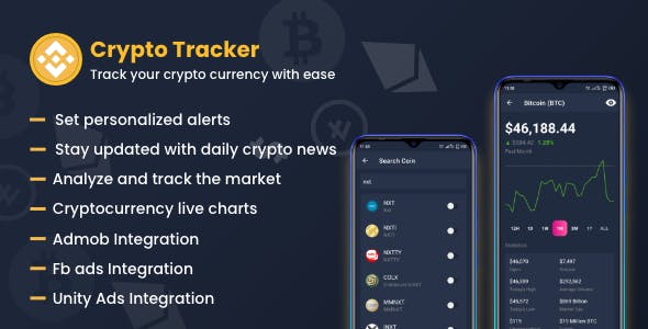 Crypto Currency Tracker : Market analysis tool