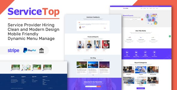 ServiceTop - Professional Service Selling Marketplace