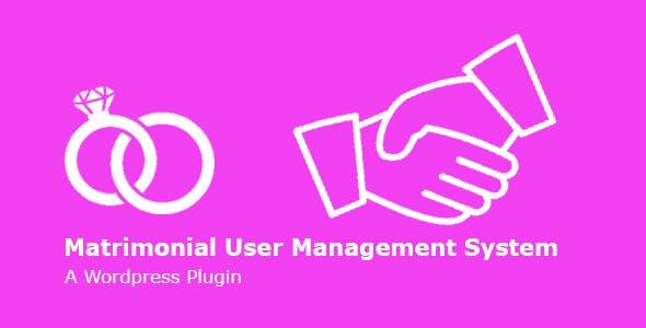 Matly | WordPress Matrimonial User Management System