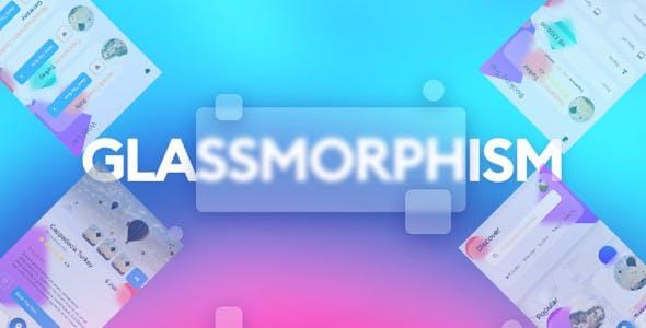 Flutter Glassmorphism - Booking app template