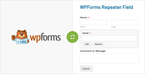 WPForms Repeater Field - CodeCanyon Item for Sale