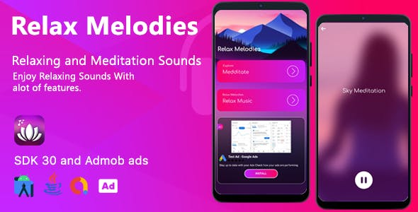 Relax Melodies App - Sleepy Sounds Android