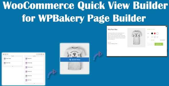 WooCommerce Quick View Builder for WPBakery Page Builder