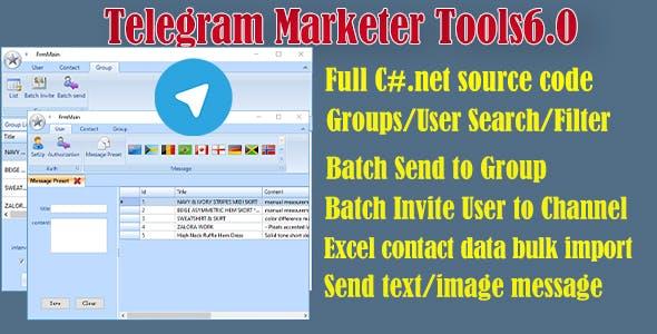 Telegram Marketer Tools 6