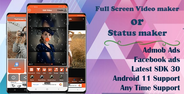 MV Master : Video Maker - Photo video maker Clone(Android 11 and SDK 30) - CodeCanyon Item for Sale