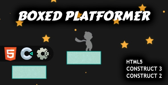 Boxed Platformer HTML5 Construct 2/3 - CodeCanyon Item for Sale