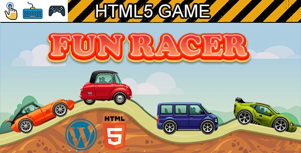 Fun Racer Game (HTML5) Car Racing Game - CodeCanyon Item for Sale