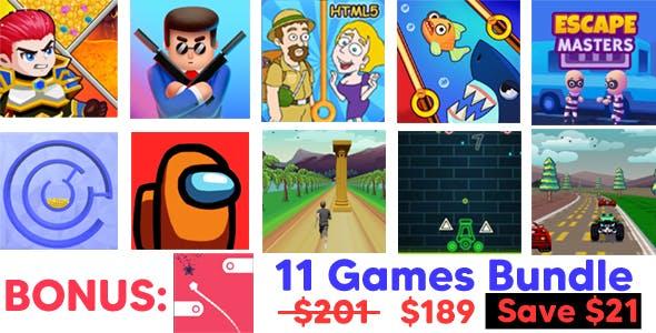 11 Popular Games Bundle