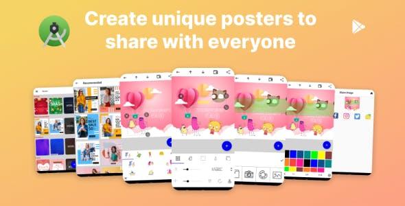 PosterNew - Poster maker app