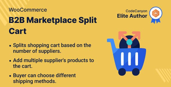 B2B Marketplace Split Cart for WooCommerce