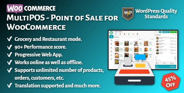 MultiPOS - Point of Sale (POS) for WooCommerce - CodeCanyon Item for Sale