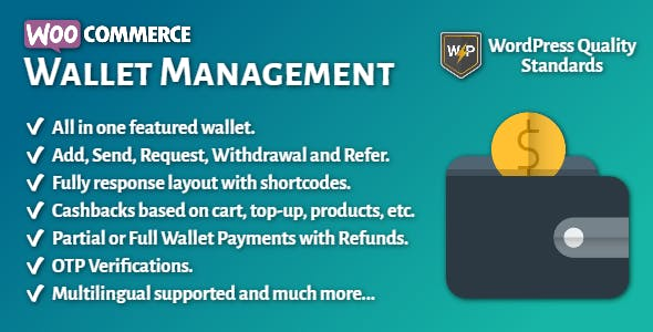 WooCommerce Wallet Management | All in One
