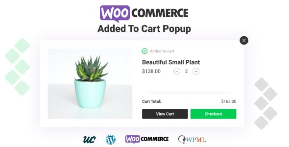 WooCommerce Added To Cart Popup