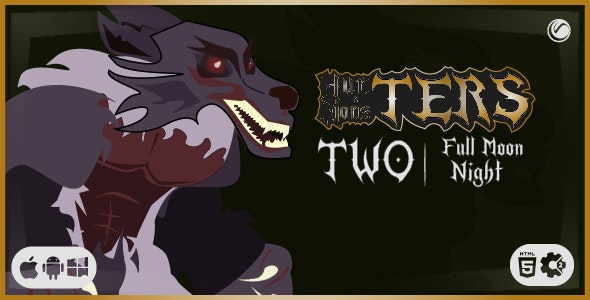TERS Two: Full Moon Night   HTML5 Construct Game - CodeCanyon Item for Sale