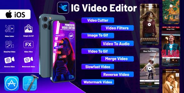 IG Video Editor - iOS Source Code