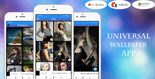 Universal Wallpaper App (Android 11 And SDK 30)